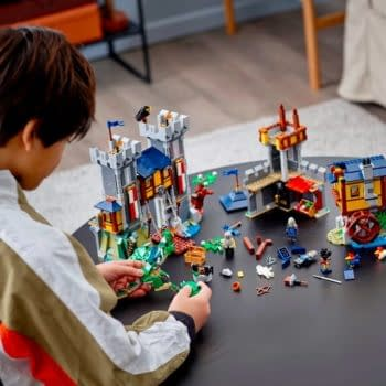 Travel Back to Medieval Time As LEGO Reveals Their New 3in1 Castle Set