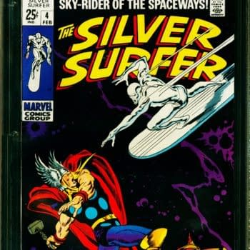 Silver Surfer #4 CGC Copy On Auction At ComicConnect