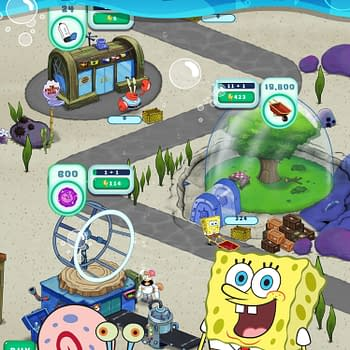 SpongeBob's Idle Adventures Announced For Mobile This Summer