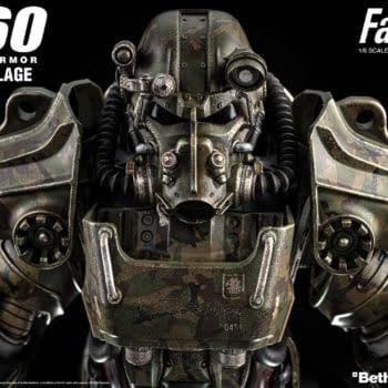 Threezero Unveils Fallout T-60 Camouflage Power Armor Figure