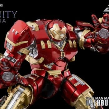 Iron Man Mark 44 Hulkbuster Armor Deploys With threezero