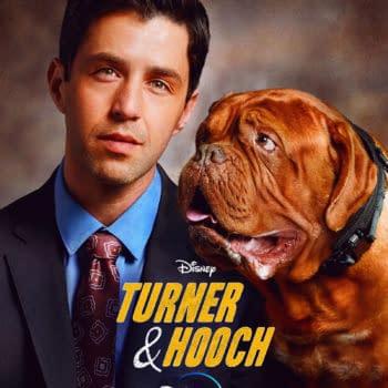 Turner & Hooch: Disney+ Evokes 1989 Original Poster for TV Series