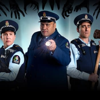 Wellington Paranormal Team On Monsters, Hauntings & Chuck Norris Fears