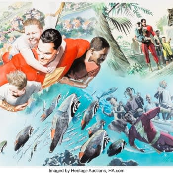Alex Ross's Original Painted Comic Book Artwork At Auction