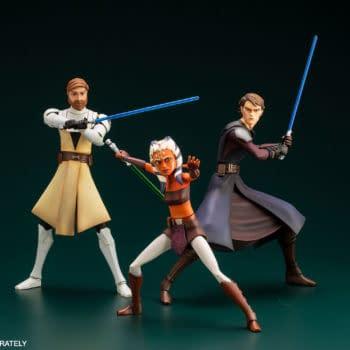 Star Wars: The Clones Wars Returns to Kotobukiya With Updated Re-Release
