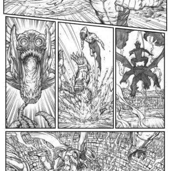 Art Preview Of Aquaman