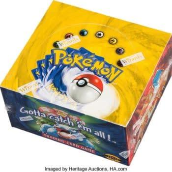 Pokémon Unlimited Base Set Box Break Happening At Heritage Auctions