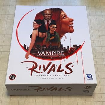 Vampire: The Masquerade Rivals Expandable Card Game: A Review