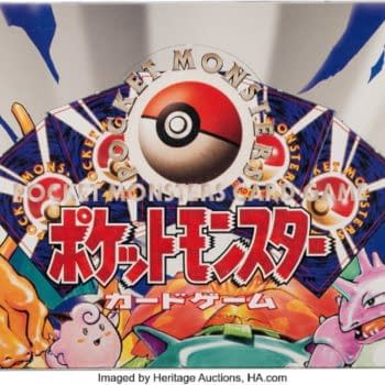 Pokémon Japanese Base Set Booster Box Up For Auction At Heritage