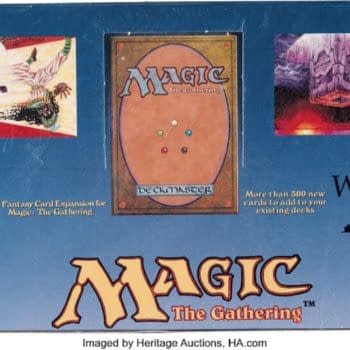 Magic: The Gathering Sealed Legends Box Up For Auction At Heritage