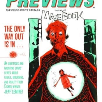 Mazebook and Snake Eyes On Next Week's Diamond Previews Covers