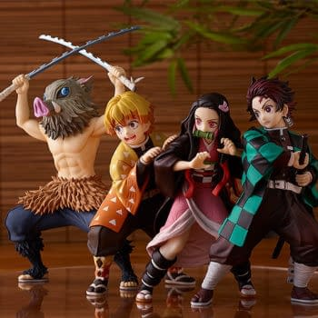 Demon Slayer Inosuke Slices and Dices With Good Smile Company