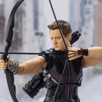 Hawkeye Takes His Shot With New Marvel S.H. Figures Release