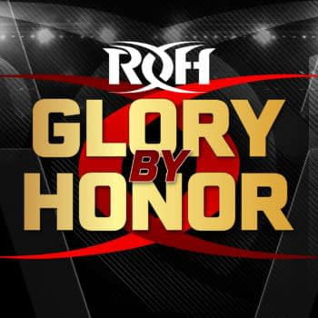 The official logo for ROH Glory By Honor, taking place August 20th and August 21st in Philladelphia.