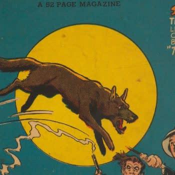 Green Lantern #36 featuring Streak the Wonder Dog, DC Comics 1949.
