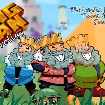 Retro Platformer Game KING MAN Trilogy Released On Steam