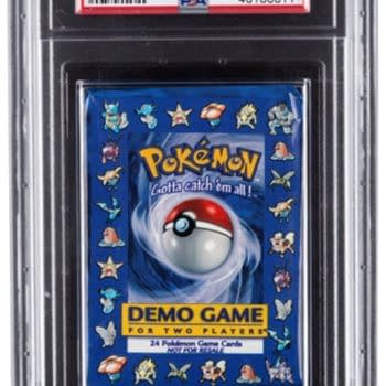 Pokémon TCG Demo Pack Up For Auction At Heritage Auctions