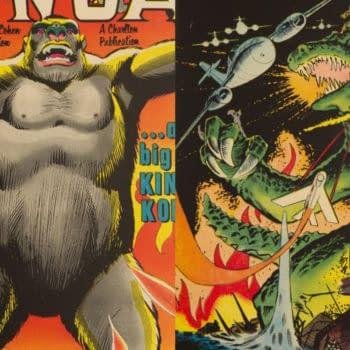 Konga (1960) and Gorgo (1961), Charlton Comics.