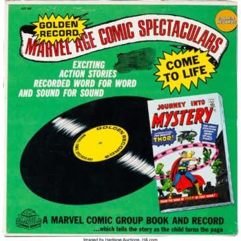 Comics on Vinyl, Godzilla Poster, on Auction at Heritage