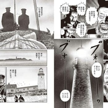 Junji Ito Promotes Theatrical Release Of 'The Lighthouse' In Japan
