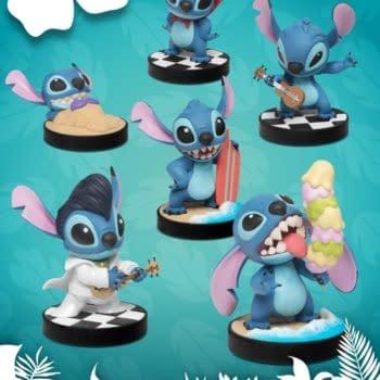 Stitch Goes Wild With New Lilo & Stitch Beast Kingdom Mini's