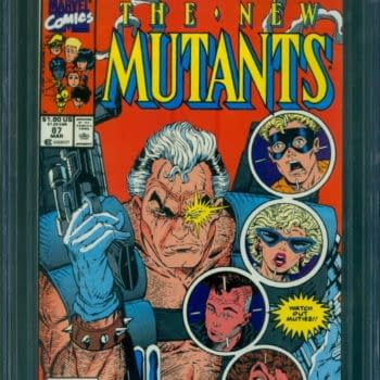 Time To Set Records For New Mutants #87 & #98, First Cable & Deadpool