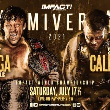 Sami Callihan will challenge Kenny Omega for the Impact Championship at Slammiversary in July