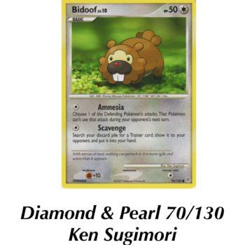 TCG Spotlight: Some of the Best Bidoof Pokémon Cards