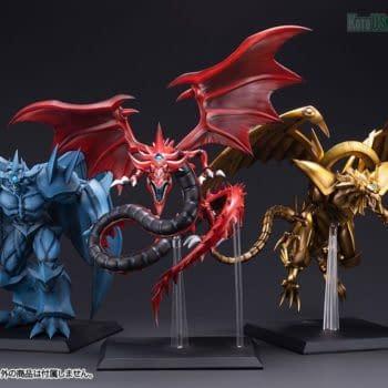 Kotobukiya Summons Slifer the Sky Dragon In Attack Position
