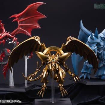 Behold, The Winged Dragon of Ra Arrives At Kotobukiya