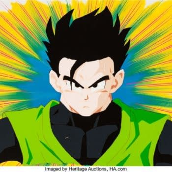Dragonball Z Gohan Production Cel On Auction At Heritage Auctions