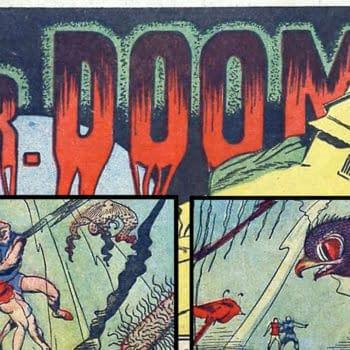 Science Comics #1 Dr. Doom story, Fox 1940.