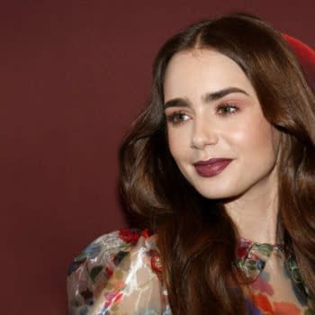 Lily Collins at the 'Les Miserables' Photo Call held at the Linwood Dunn Theater in Hollywood, USA on June 8, 2019. Editorial credit: Tinseltown / Shutterstock.com
