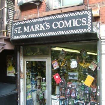 St. Mark's Comics teams up with Brooklyn Cyclones Baseball Team