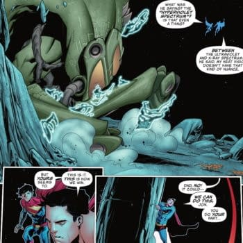 Superboy And Superman Vision Powers (Spoilers)