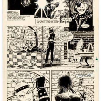 When Professor X Woke Up In Bondage Gear- Original Artwork at Auction