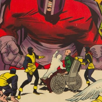 X-Men #4 cover by Jack Kirby (Marvel, 1964)