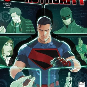 Cover image for SUPERMAN AND THE AUTHORITY #1 (OF 4) CVR A MIKEL JANIN