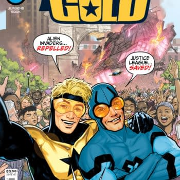 Cover image for BLUE & GOLD #1 (OF 8) CVR A RYAN SOOK