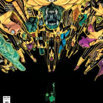 Cover image for GREEN LANTERN #5 CVR A BERNARD CHANG