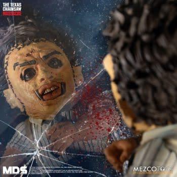 The Texas Chainsaw Massacre Leatherface Returns To Mezco Toyz