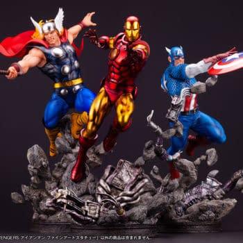 Iron Man Blasts His Way Into Kotobukiya With New Marvel Fine Art Statue