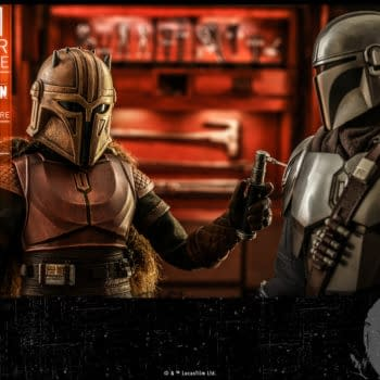 The Mandalorian The Armorer Hot Toys Summer Exclusive Figure Revealed