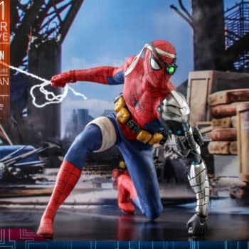Cyborg Spider-Man Swings On In With Hot Toys Exclusive Figure