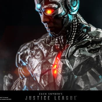 Hot Toys Finally Teases Justice League Cyborg 1:6 Scale Figure