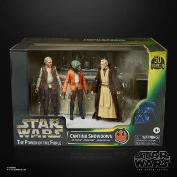 Star Wars Mos Eisley Cantina 3-Figure Playset Reveals by Hasbro