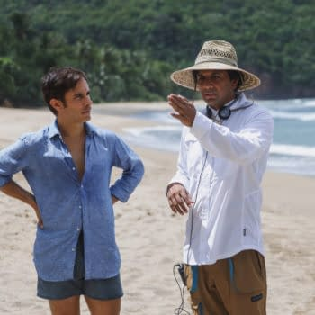 Old: Gael Garcia Bernal Praises the Makeup That Weathered the Elements