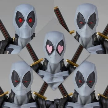 Deadpool Gets An X-Force Variant With New 2.0 Revoltech Figure