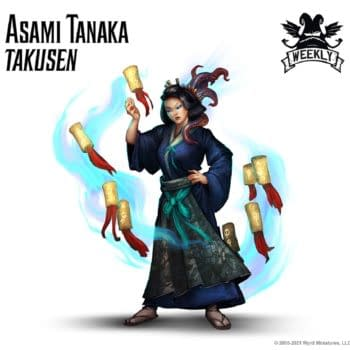 Malifaux: Wyrd Games Reveals A New Title For Asami Tanaka