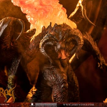 The Lord of the Rings Balrog Returns Once Again With Asmus Toys